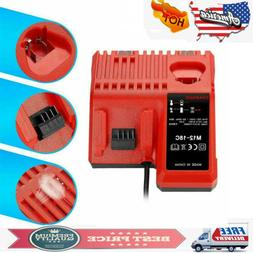 1/2X 12V-18V Multi Voltage Fast Charger for Milwaukee Lithiu