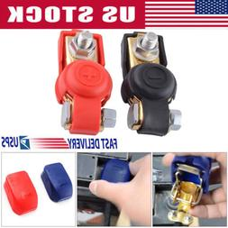 1 Pair 12V Car Quick Release Battery Disconnect Terminals Cl