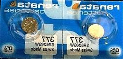 10 Renata Watch Batteries: 377