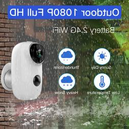 1080P HD Audio Security Camera Wireless WiFi Battery Operate