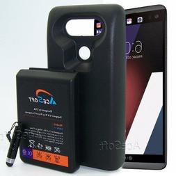 AceSoft 10900mAh High Capacity Extended Battery + TPU Case F