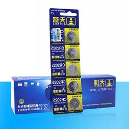 10pcs CR2025 3V Volt Button Cell Coin Battery Pack for Watch