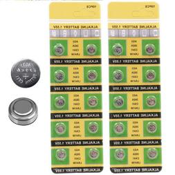 10PCS/Set 1.55V Button Coin Cell Batteries LR41 AG3 392 384