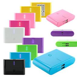 12000mAh Double USB Portable External Battery Power Bank Cha