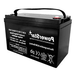 12V 100Ah Rechargeable AGM SLA Deep Cycle Battery for Solar