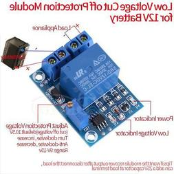 12V Battery Low Voltage Management Cut off Load Switch Contr