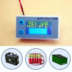 12V Indicator Battery Capacity Voltage Tester Display Lead-a