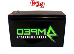 12v LITHIUM BATTERY  12 AH Amped Outdoors Ships Free