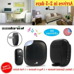 1Byone Wireless Doorbell Chimes Battery Operated Receiver fo