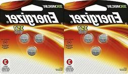 2 Packs of Energizer 357BP-3 Watch/electronic Batteries