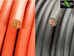 2 Gauge AWG Welding Lead & Car Battery Cable Copper Wire MAD