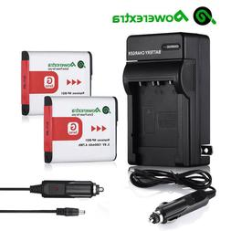 2 NP-BG1 Type G Battery + Charger For SONY Cybershot DSC-HX5