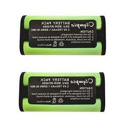 2 Pack BP-HP550-11 Replacement Battery for Sony BP-HP550-11