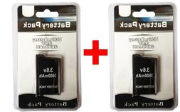 2 x PSP 2000 3000  Replacement Battery Pack 3.6v 3600 mAh