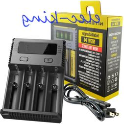 NEW 2017 NITECORE NEW I4 Intelli charger For AA 18650 18500