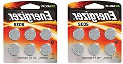 Energizer 2032BP-4 3 Volt Lithium Coin Battery - Retail Pack