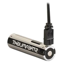 Streamlight 22102 USB Rechargeable 18650 Lithium Ion Battery