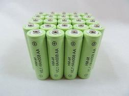 24 AA 600mAh Ni-Mh Rechargeable Battery Garden Solar Landsca