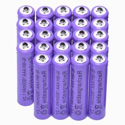 24x AAA 1800mAh 1.2 V Ni-MH rechargeable battery Purple for