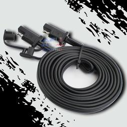 12ft. Battery Quick Disconnect Connect 2-Pin SAE Waterproof