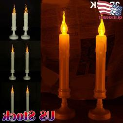 2Pack Flameless LED Candle Battery Operated Flickering Flame