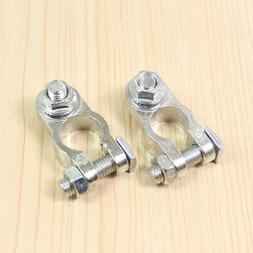 2Pcs Terminal Clamp Universal Car Battery Cable Holder Post