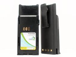 2x Pack - Motorola HNN9049 Two-Way Radio Battery Replacement