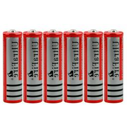 3.7V Li-ion Rechargeable Battery Cell 6 Pcs