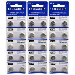 30 pcs ~ AG10 button cell alkaline batteries coin watch calc