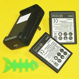 3000mAh battery Home Charger for Samsung Galaxy Legend SCH-I