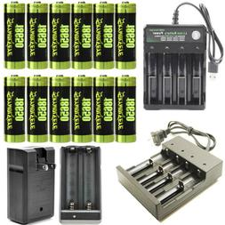 3800mAh 18650 Battery 3.7V Li-Ion Rechargeable Batteries For