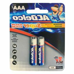ACDelco AAA Batteries Alkaline Carded Retail LR03 AAA2 x 19