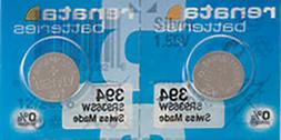 395 RENATA WATCH BATTERIES SR927SW  New packaging Authorized