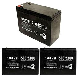 3x Pack - Neuton Mowers CE6 Battery - Replacement UB12100-S