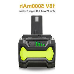 5.0AH 18V Lithium Battery for Ryobi One Plus P108 P105 RB18L