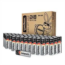 48 Count Energizer AA Batteries, Double A Battery Max Alkali
