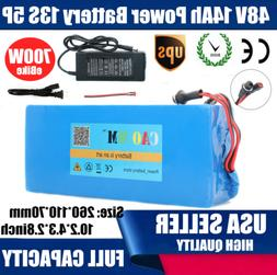 48V 10Ah Lithium li-ion Battery Pack 700W ebike Bicycle E Bi