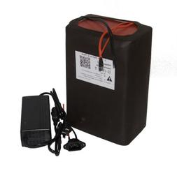 48V 30ah Lithium lI-ion Battery Pack for EBike Scooter 1000W