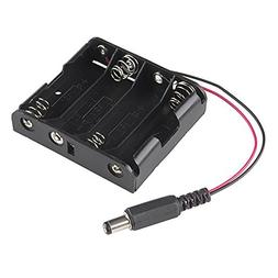 Generic 4xAA Battery Holder to DC Barrel Jack Connector for