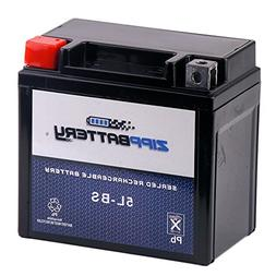 Chrome Battery 5L-BS Sealed AGM Motorcycle Battery