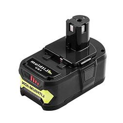 6.0Ah P108 Battery for Ryobi 18V One Plus Lithium Battery Re