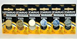 6 2-PACKS BOX Duracell Coin Cell Battery DL2025 / CR2025 / E