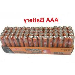 60 AAA Batteries extra Heavy Duty