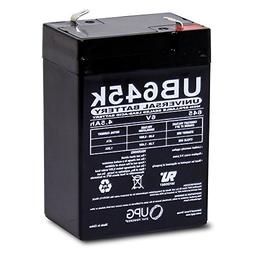 6V 4.5AH - 6 VOLT New Battery for Hubbell 0120255 or Dual-Li