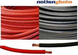 8, 6, 4, 2, 1/0, 2/0, 4/0 Gauge AWG Red & or Black Welding B