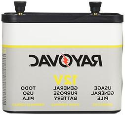 RAYOVAC General Purpose Lantern Battery, 12 Volt, Screw Term