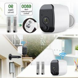 960P Wireless WiFi Low Power Consumption Battery Security Ca