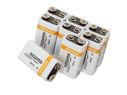 9v alkaline batteries 3 8 packs