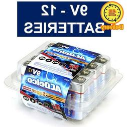 Acdelco 9V Super Alkaline Batteries In Reclosable Package, 1