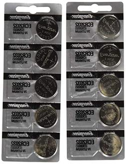Energizer CR2032 3 Volt Lithium Coin Battery 10 Pack  In Ori
